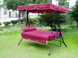 2 Seats Garden Swing Chair with Canopy