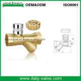 Wholesale Brass Lockable Y-Strainer Ball Valve with Lock (AV10066)