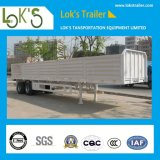 Twin Axle of Side Wall Semi Trailer