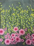 Wholesale New Design Flower Embroidery Lace Fabric for Dress