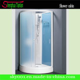Low ABS Tray Sector Pear Simple Glass Shower Room From Hangzhou (TL-8839)