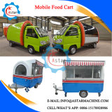 Electric Driven Mobile Food Trolley Cart for Sale