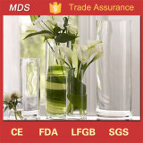 Clear Cylinder Wholesale Cheap Tall Decoration Flower Glass Vase