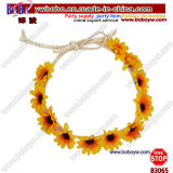 Hippies Set Accessories Chrysanthemum Headband Hippie Wreath for Beauty Hair Jewelry (B3065)