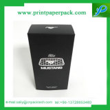Perfume Packing Black Printing with Hot Stamping Cardboard Gift Box