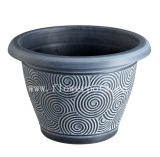 Thread Plastic Flower Pot (KD7301P-KD7304P)