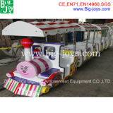 Amusement Park Electric Train Electric Track Train 14 Seats Electric Thomas Train for Sale