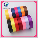 High Quality Fashion Solid Color Polyester Satin Webbing Ribbon