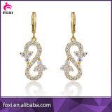 Wholesale Fashion Diamond Trendy Zircon Hanging Stud Earrings Jewelry