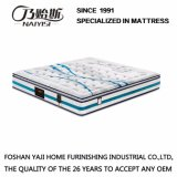Natural Latex Spring Mattress with Figured Knitted Fabric Cover (FB831)