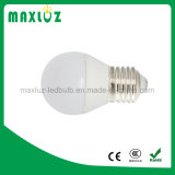 Dimmable E27 4W LED Golf Ball Bulb with White