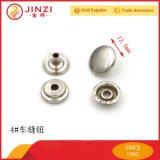 Decorative Shiny Zinc Alloy Metal Button