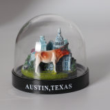 Cheap Price Mini Plastic Castle Snow Globe for Promotion Gifts