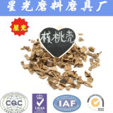 Crushed Walnut Shell Abrasive Grit for Deflashing and Polishing