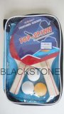 Wooden Table Tennis Bat with Bag