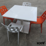 4 Seaters Solid Surface Furniture Restaurant Coffee Table
