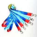 Good Price Dye Sublimated Logo Polyester Custom Lanyard for ID Badge