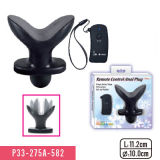 Remote Control Anal Anchor Security Plug with 10 Funtion Massager