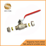 Pn40 NPT Bsp Thread Brass Bronze Ball Valve