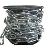 Zinc Plated DIN5685c Long Link Chain in Reels