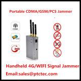 Handheld Mobile Phone Jammer Cellphone Jammer for GPS/Lojack WiFi Jammer Pocket Jammer