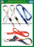 Wholesale Cheap Custom Silkscreen Neck Lanyard