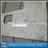 Prefabricated River White Granite Countertop for Residential Kitchen, Bathroom