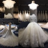 Crystal Beads Mermaid Bridal Gown Wedding Dress Wgf001