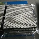 Rubber Backed Ceramic Mats for Feed or Discharge Chute