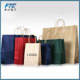Wholesale Customized Printed Shopping Brown Kraft Paper Bag