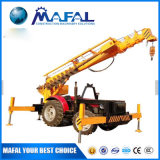 Competitive Price Pole Erection Machine Tractor Mounted Crane