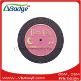 Promotional Soft PVC Round Cup Coaster