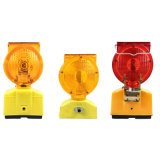 Yellow Red 6 LED Flashing Traffic Safety Warning Barricade Light
