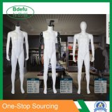 White Male Mannequin Make-up Manikin Metal Stand Plastic Full Body Realistic