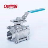 China Alibaba Made in China and China Manufacturer New Product 3PC Stainless Steel V Port Float Ball Valve