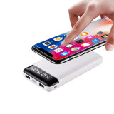 Portable Wireless Mobile Power Qi Charger with 2 USB and LED Lights for Mobile Charger