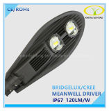 High Brightness 100W COB LED Street Light with Ce/RoHS Certification