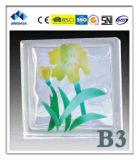 Jinghua High Quality Artistic B-3 Painting Glass Block/Brick