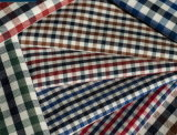 Checks Twill 60 Cotton 40 Polyester Fabric Shirting