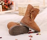 Fashion Pure Sheepskin Kangroougg Bailey Boot with Two Horn Button