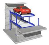 Storage in Pit for Two Cars with Ce