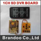 Smallest 1 Channel SD DVR Module Support Remote Controller Used