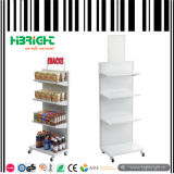 Supermarket Shelf with Plastic Shelf Price Strip