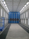 Large Coating Line Machine, Long Bus Spray Paint Booth