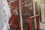 Chinese Rossa Levanto Red Marble Slabs for Floor and Countertop