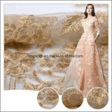 Beautiful Embroidery Bridal Tulle Handmade Beaded Lace Fabric