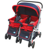 2020 New Design OEM Twin Baby Stroller