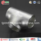 Stainless Steel Pipe Fittings Food Grade Welded Equal Tee