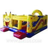 Inflatable Combo Castle, Pikachu Theme Bouncer (B3031)
