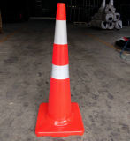 "36"" New Zealand Standard PVC Traffic Cone Reflective Road Construction Cone"